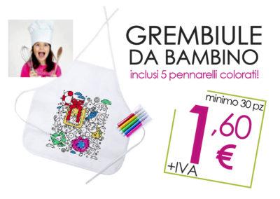 GREMBIULE DA BAMBINO