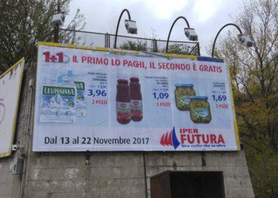 VIALE DEL BASENTO ILLUMINATO